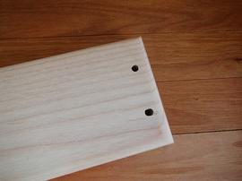 家具耐震固定板,ホワイトアッシュ